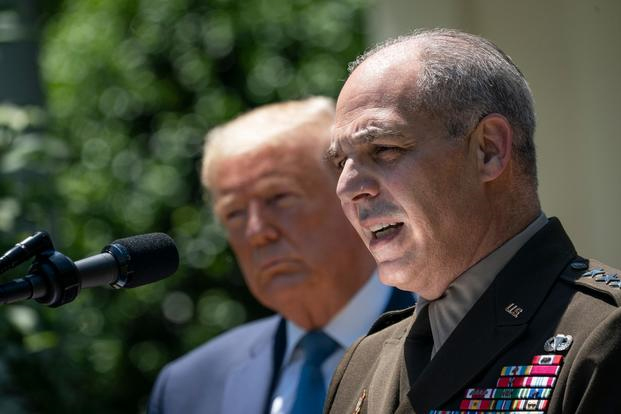 four star Army general Gustave Perna